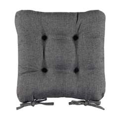 Grey Chair Cushions Canopy Lawn Chairs Walmart Pad Cushion Kmart