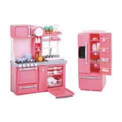 Barbie Gourmet Kitchen The Honest Perfect Form Our Generation Set Kmart
