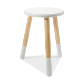 stools for kitchen red appliances bar breakfast kmart dipped stool white