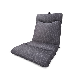 grey chair cushions cover hire hawkes bay outdoor pads kmart highback cushion