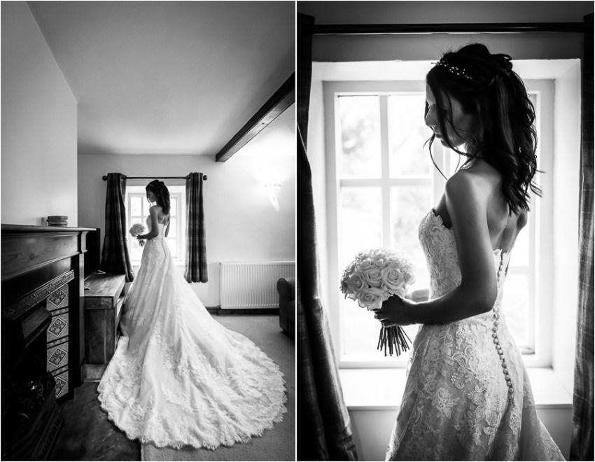 yorkshire wedding photographer - bride portraits