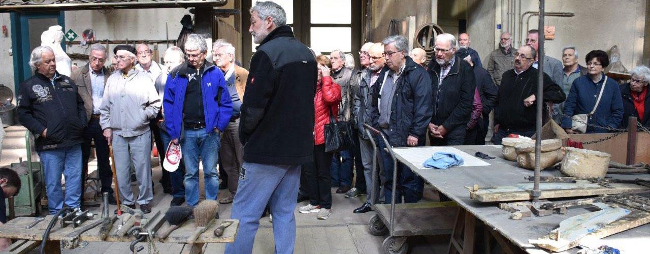 Besuch bei der Glockengiesserei in Aargau