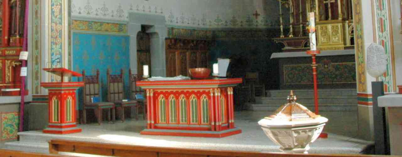 Altar der Kath. Kirche in Bülach