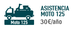Asistencia Moto 125