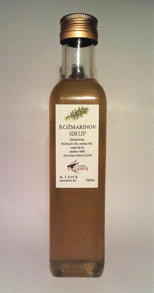 rozmarinov-sirup