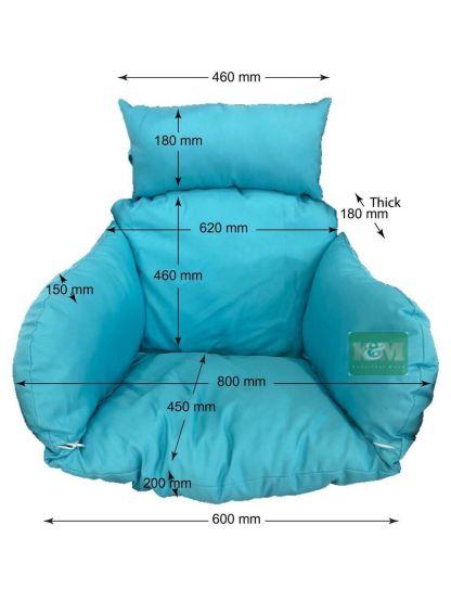 K&M Egg Chair Cushion
