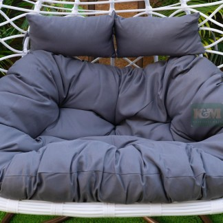 Grey Egg Chair Cushion K&M