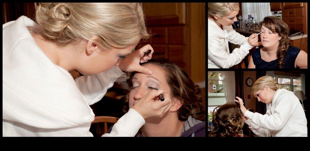 pennsylvania wedding photographer - wedding day makeup - wedding day hair