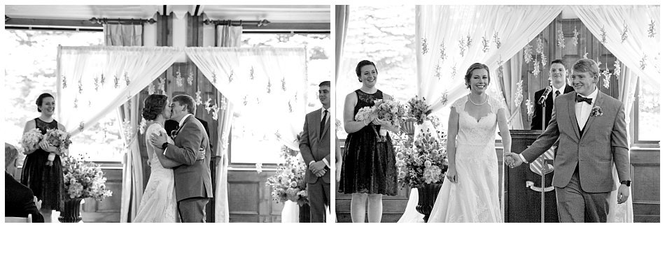 Skytop Lodge wedding ceremony | K. Moss Photography