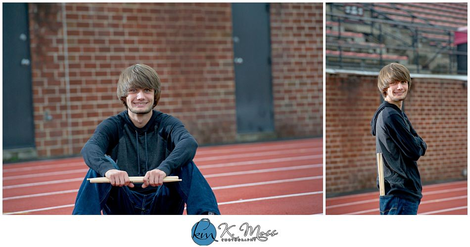 Berks County Drummer Senior Photo Session | K. Moss Photography