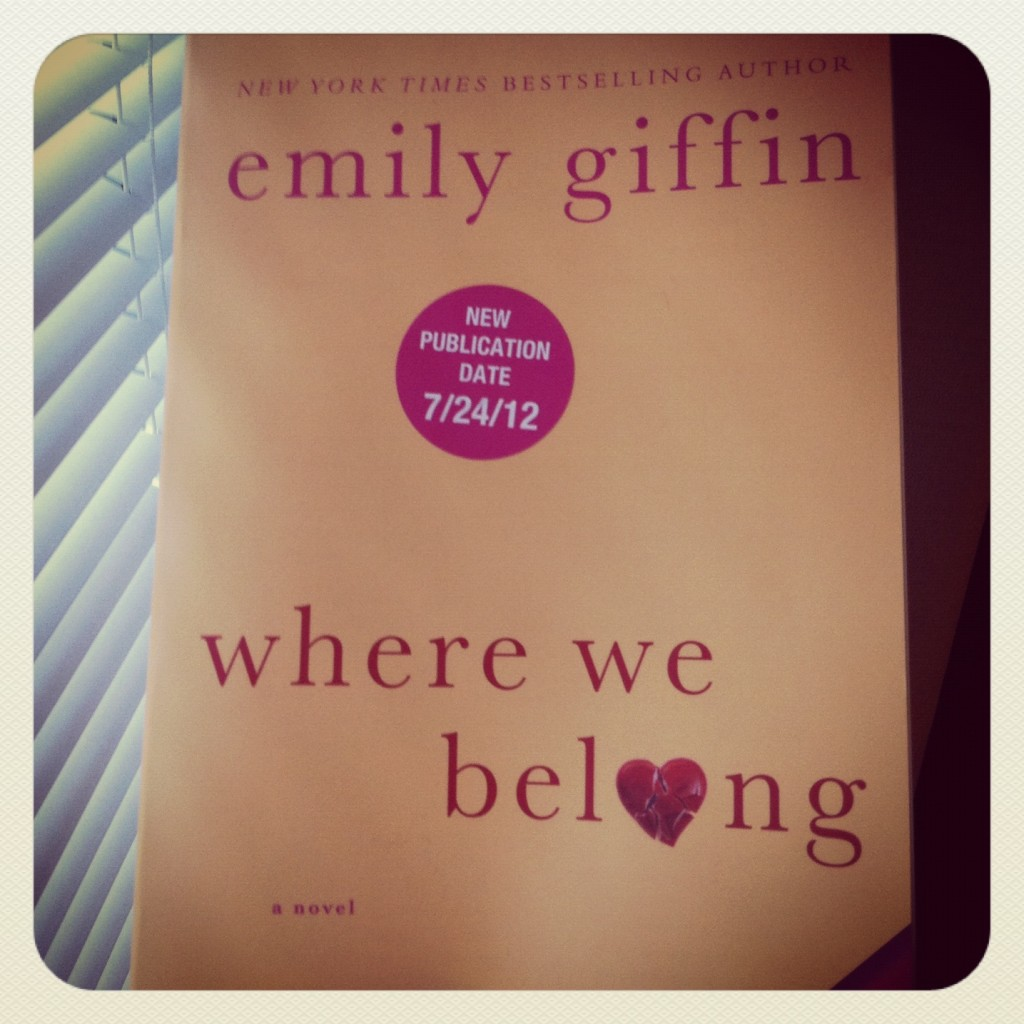 photo7 1024x1024 Book Giveaway: Where We Belong by Emily Giffin