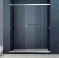 The Best Custom Semi-Frameless 3 Panel Sliding Bathroom ...
