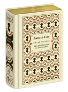 25 Last Minute Gifts for Book Lovers Jane-A-Day 5 Year Journal Jane Austen