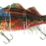 CH4J02F 4 joints swimbait bass lure 5.5″ 65g