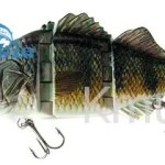 7oz-102g Multi Jointed Fishing Lure Swimbait Life-like Bass Lure-CH4J03F