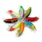 Minnow Fishing Lures 6cm-9.8g Hard Lures Wobbler Bass Baits Fishing Tackle Floating Small Minnow baits