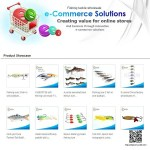 Ecommerce website design lures fishing online web site