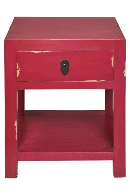 Cassetto 1 Ripiano Rosso Porpora KMV Home Store stocKMarket