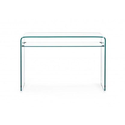 Consolle-in-vetro-con-Ripiano-KMV-Home-Store-stocKMarket