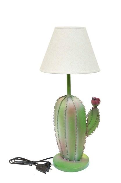 Lampada-Cactus-con-Fiore-in-Metallo-KMV-Home-Store-stocKMarket