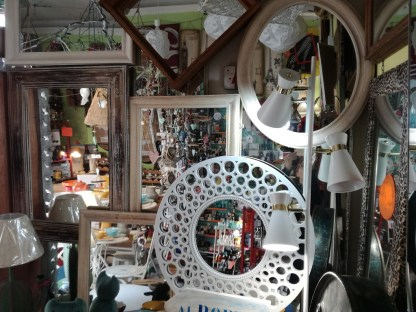 Specchio Tondo Rosone - KMV Home Store stocKMarket