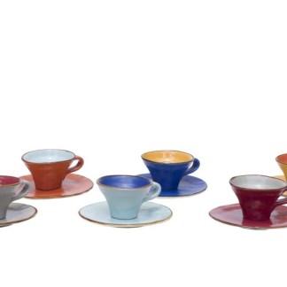 Tazzina-Caffè-Svasata-in-Gres-con-Piattino-Confezione-6-Colori-KMV-Home-Store-stocKMarket