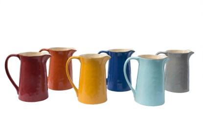 Caraffa Brocca Gres Porcellanato Colorato Toscana - KMV Home Store stocKMarket