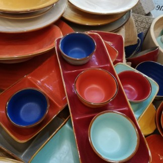 Vassoio Antipasto Colorato Gres Porcellanato Toscana - KMV Home Store stocKMarket