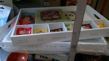 Vassoio Legno Porta Bustine Tea - KMV - Home Store - stocKMarket