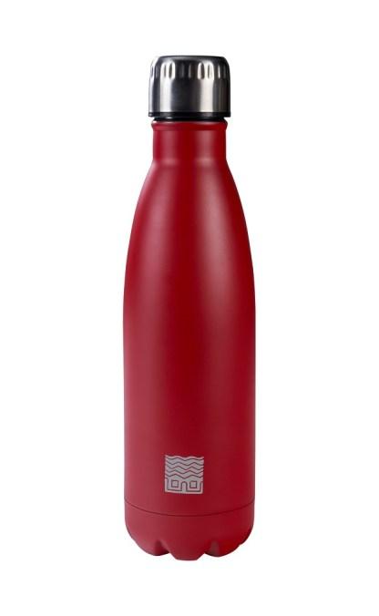 Thermos Borraccia Termica Rosso Acciaio - KMV Home Store - stocKMarket