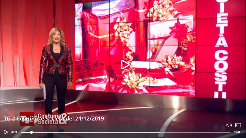 RAI 2 Costume e Società 24 Dicembre 2019 - KMV Home Store stocKMarket