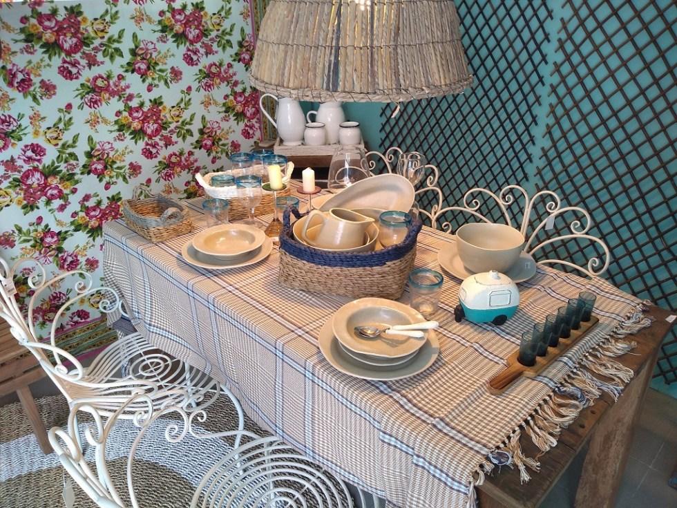 Servizio Rustico Avana Sabbia Piatto Piano Fondo Dessert - KMV Home Store stocKMarket