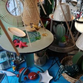 Tavolo Cactus Tondo Metallo - KMV Home Store stocKMarket