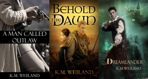 Bundle Novels K.M. Weiland A Man Called Outlaw Behold the Dawn Dreamlander