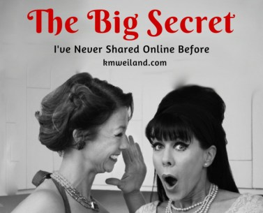 The Big Secret I've Never Shared Online Before