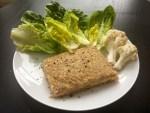 Nízkosacharidový květákovo - celerový sendvič