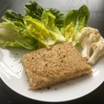 Nízkosacharidový květákovo – celerový sendvič