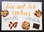 (Nejen) nízkosacharidový recept: Nejlepší keto chocolate chips cookies (sušenky s čokoládou)