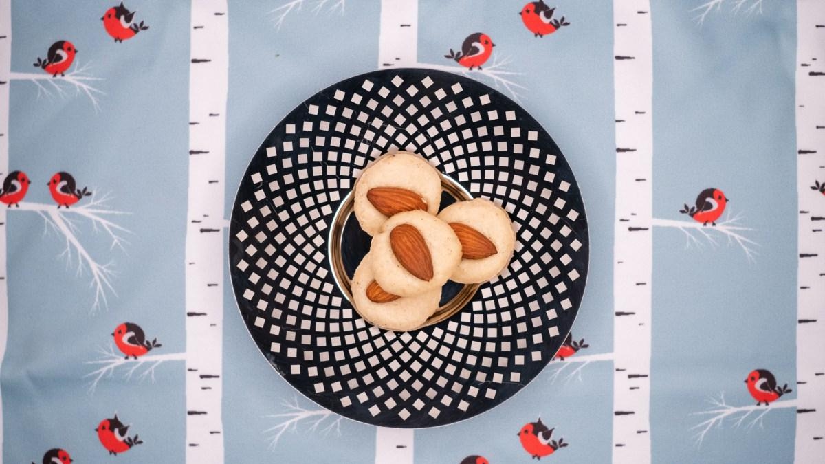 """Mandlové cukroví – """"Makronky Nancy"""" #low carb recept"""