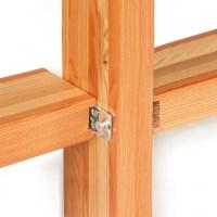Pfosten-Riegel Holz-Glasfassaden | Knapp Verbinder