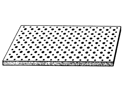 Cleaneo 12,5 mm. Okrugla perforacija različitih preseka