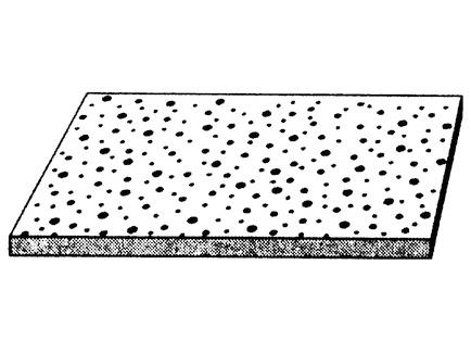 Cleaneo 12,5 mm. Nepravilna razbacana perforacija plus R
