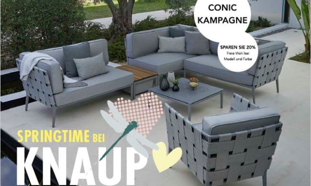 Springtime bei Knaup – CONIC LOUNGE