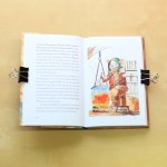 Schönes Fantasy-Kinderbuch mit Illustrationen Das Dorf unter dem Fußboden von John E. Brito