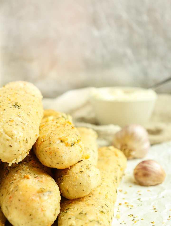 Garlic Herb Breadsticks