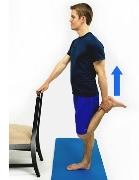 Vastus Medialis Stretches. Approved use hep2go.com