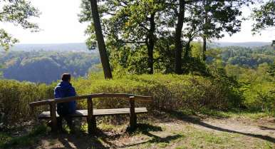 Buckow Ausblick auf den Dachsberg