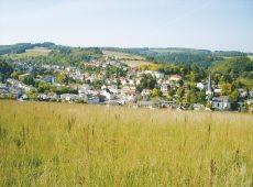 Bad Schwalbach Blick auf die Stadt