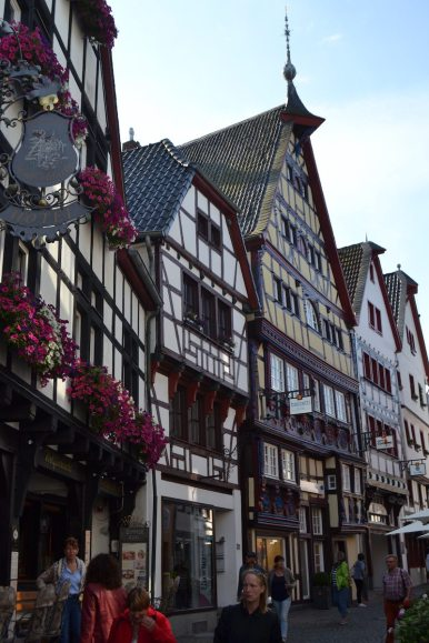 Bad Münstereifel Innenstadt und Altstadt mit Fachwerkhäuser