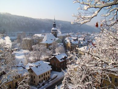 Winterzauber in Bad Schandau
